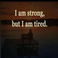 I AM STRONG BUT...