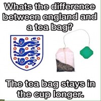 Forskellen på England og en tepose
