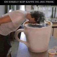 En enkelt kop kaffe